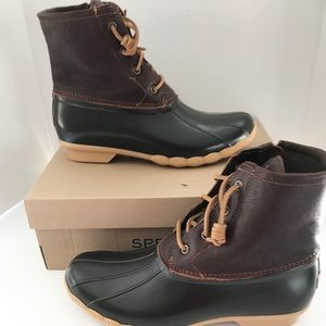 NWT Sperry Saltwater Duck Boots